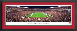 University Of Alabama Deluxe Framed Picture 2