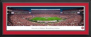 University Of Alabama Deluxe Framed Picture 3