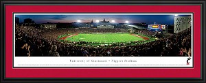 University Of Cincinnati Nippert Stadium Deluxe Framed Picture