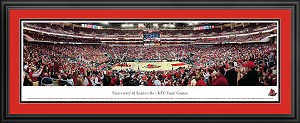 University Of Louisville KFC Yum! Center Arena Deluxe Framed Picture