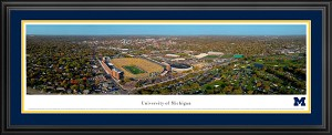 University Of Michigan Deluxe Framed Picture 3