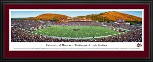 University of Montana Washington-Grizzly Stadium Deluxe Framed Picture