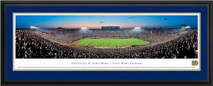 University Of Notre Dame Deluxe Framed Picture