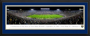 University Of Notre Dame Deluxe Framed Picture 3