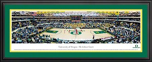 University Of Oregon McArthur Court Stadium Deluxe Framed Picture