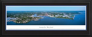 Annapolis, Maryland Deluxe Framed Skyline Picture