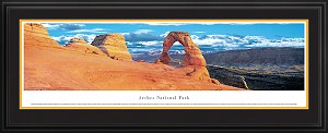 Arches, Utah Deluxe Framed Skyline Picture