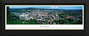 Bath, England Deluxe Framed Skyline Picture