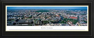 Berlin, Germany Deluxe Framed Skyline Picture