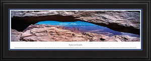 Canyonlands National Park, Utah Deluxe Framed Skyline Picture