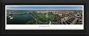 Washington, D.C Deluxe Framed Skyline Picture 1