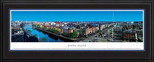 Dublin, Ireland Deluxe Framed Skyline Picture