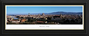 Florence, Italy Deluxe Framed Skyline Picture