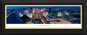 Las Vegas, Nevada Deluxe Framed Skyline Picture 7