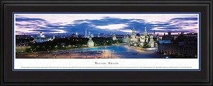 Moscow, Russia Deluxe Framed Skyline Picture