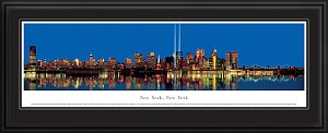 New York, New York Deluxe Framed Skyline Picture 11