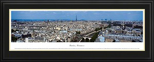 Paris, France Deluxe Framed Skyline Picture 2