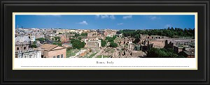 Rome, Italy Deluxe Framed Skyline Picture 2