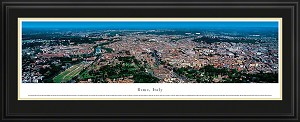 Rome, Italy Deluxe Framed Skyline Picture 3