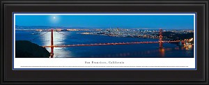 San Francisco, California Deluxe Framed Skyline Picture 5