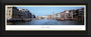 Venice, Italy Deluxe Framed Skyline Picture 1