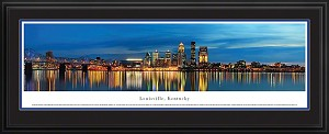 Louisville, Kentucky Deluxe Framed Skyline Picture 3