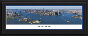 New York, New York Deluxe Framed Skyline Picture 19