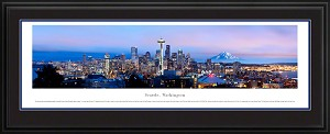 Seattle, Washington Deluxe Framed Picture