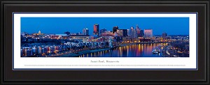 Saint Paul, Minnesota Deluxe Framed Picture