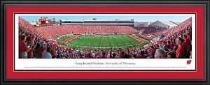 University Of Wisconsin Camp Randall Stadium Deluxe Frame