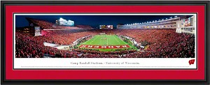 University Of Wisconsin Camp Randall Deluxe Framed Picture 4