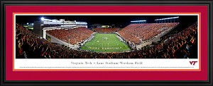 Virginia Tech Lane Stadium Deluxe Framed Picture 2