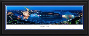 Niagara Falls Deluxe Framed Skyline Picture 4