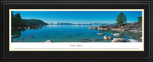 Lake Tahoe Deluxe Framed Skyline Picture