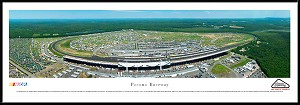 Pocono Raceway Framed Panoramic Picture