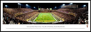 Arizona State University Sun Devils Framed Arena Picture