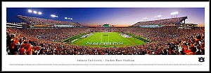 Auburn University Framed Jordan Hare Stadium Picture