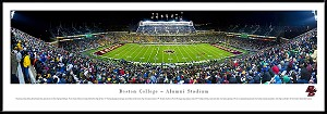 Boston College Framed Alumni Stadium Picture