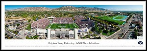 Brigham Young University Framed Stadium Picture