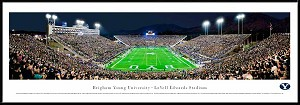 Brigham Young University Lavell Edwards Stadium Framed Picture