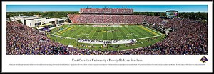 East Carolina University Dowdy Ficklen Framed Stadium Picture