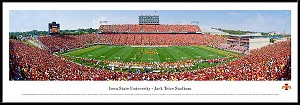 Iowa State University Framed Stadium Picture