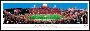 Indiana University Framed Stadium Picture