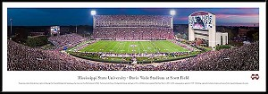 Mississippi State University Framed Stadium Picture