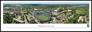 Michigan State University Framed Stadium Picture