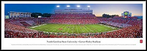 North Carolina State University Framed Stadium Picture