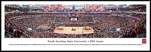 North Carolina State University Framed PNC Arena Picture