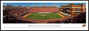 Oklahoma State University Framed Stadium Picture