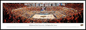 Oklahoma State University Framed Arena Picture