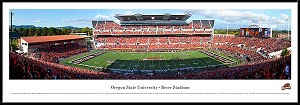 Oregon State University Framed Stadium Picture